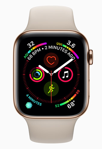 Apple Watch 4 - Bild: Apple