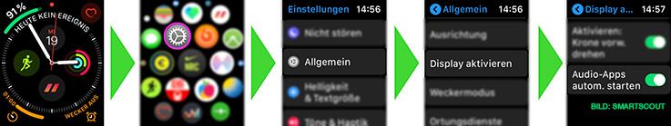 AppleWatch Musiksteuerung deaktivieren - Bild: SmartScout